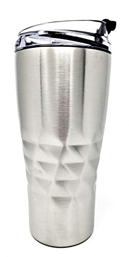 Primula Thermal Hot or Cold Triple Layered Wall Tumbler 20 oz in Gift Box, Silver PBA Free