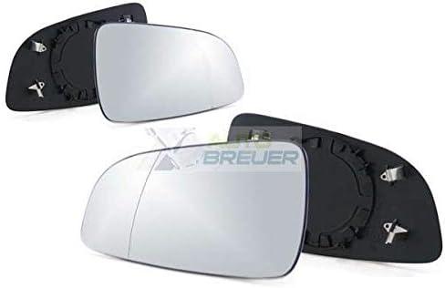 Atbreuer 4866 Spiegelglas Ersatzglas Außenspiegel Links Rechts Set Beheizbar Auto