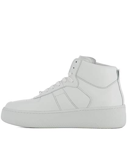 Top Uomo Maison Bianco Hi Pelle Sneakers Margiela S57ws0157sy0638101 wEqIqBx