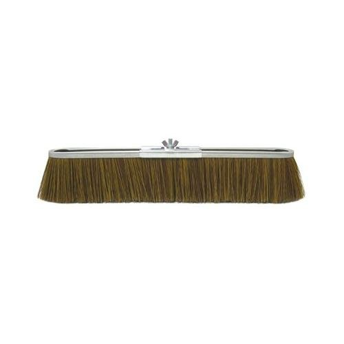 Weiler 804-25294 18 in. Economy Coarse Sweep Strip Broom, Brown Polypropyle