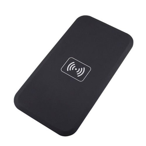Geekercity® Wireless Charger + Receiver for Samsung Galaxy Note 4 -QI Standard QI-Enabled Wireless Charger Inductive Power Charging Transmitter Pad Station Charger Mat With Receiver Set For Samsung Galaxy Note 4 N910 (Black)