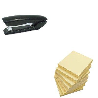 KITBOSB326BLKUNV35668 - Value Kit - Stanley Bostitch Antimicrobial Full Strip Stapler (BOSB326BLK) and Universal Standard Self-Stick Notes (UNV35668)