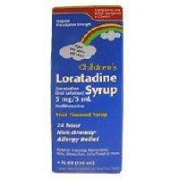 (Childrens Loratadine Syrup - 4 Oz by TARO PHARMACEUTICALS)