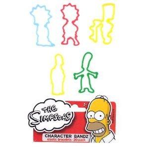 The Simpsons Family Logo Bandz Bracelets ()