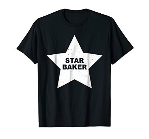 Star Baker t-shirt for Great British Baking fans and lovers