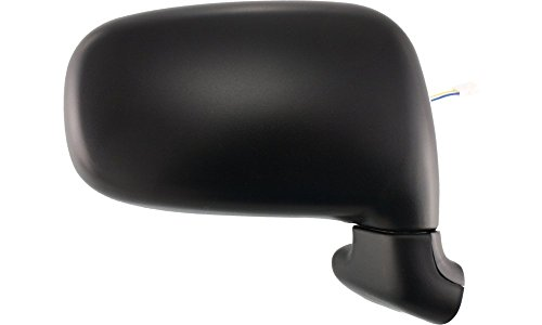 - Power Mirror for Previa 91-97 Right Side Manual Folding Textured Black
