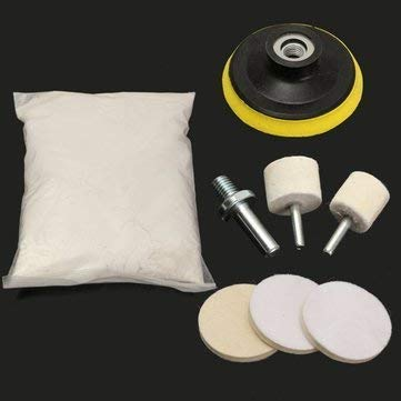 Unknown Pulverize Kit Out Windscreen Polishing Powder Car Repair Equipments - Windscreen Polishing Powder Car Glass Scratch Repair Wiper Blade Damage Remover - Windshield Shining Gunpowder Outfit