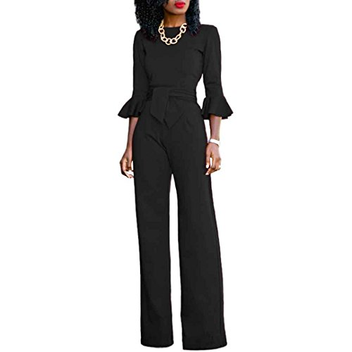 plus size black pant suit - 7