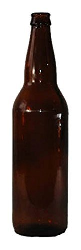 Monster Brew Home Brewing Supp Amber Beer Bottles , 22 oz by Monster Brew Home Brewing Supp