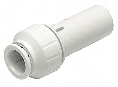 John Guest Speedfit PEI062820 3/4-Inch Stem by 1/2-Inch Pipe Reducer, 10-Pack