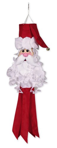 Evergreen Flag Santa Claus Windsock ()