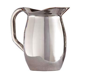 American Metalcraft DWP44 Pitcher, Double Wall, Bell, Mirror Finish, 44 -
