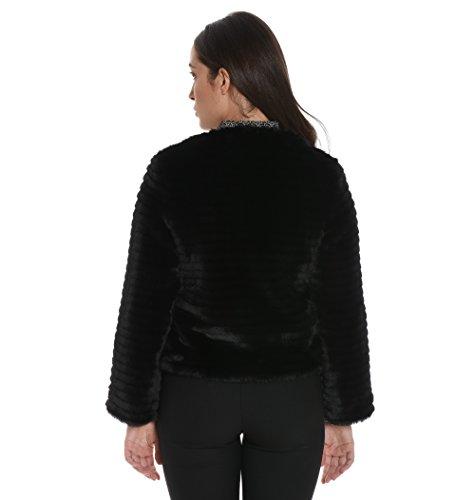 Giacca 427z1010900 Acrilico Outerwear Donna Nero Venus 8xg6w6