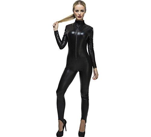 Lady Gaga Black Catsuit Fancy Dress Costume Size US 10-12]()