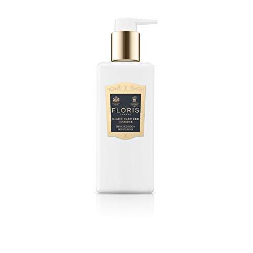 Floris London Night Scented Jasmine Enriched Body Moisturiser, 8.4 Fl Oz
