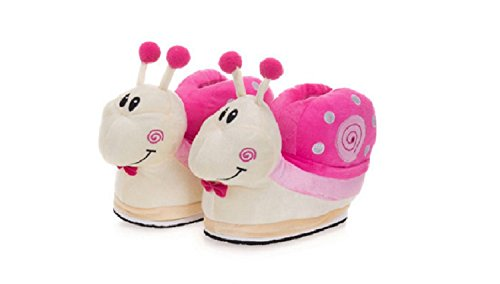Snail Cute Soft Shoes Cartoon Pink Winter Warm Slipers Slippers Plush qwtzI11Tx