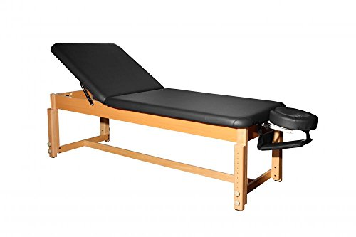 BestMassage-Black-Leather-Stationary-Massage-Table-Spa-Beaty-Facial-Bed-S289