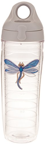 Tervis Water Bottle, Shimmer Layered Blue Dragonfly