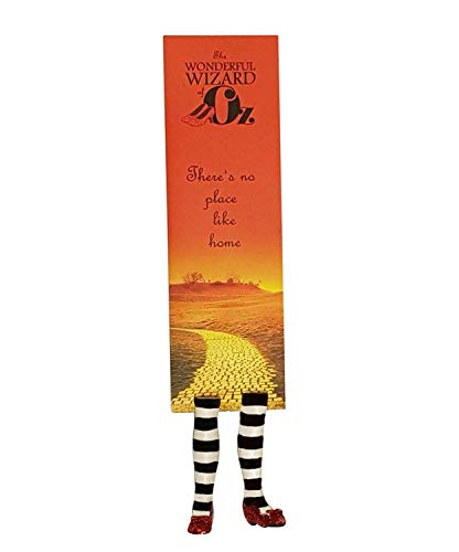 Wicked Witch Bookmark - Wizard of OZ - Wicked witch of the West - Unusual Gifts For Bookworms And Book Fans ()