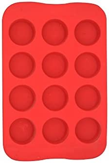 MisterChef/® Silicone Non Stick Round Circle Shaped Design Chocolate and Sweet Mould Makes 15 Chocolates at once