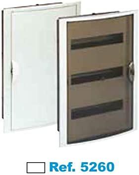 SOLERA 5260 Caja de Distribución, Blanco: Amazon.es: Bricolaje y ...