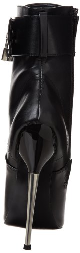 Pleaser 1023 Ankle Boot Black Women's Dagger Polyurethane rn7RrW