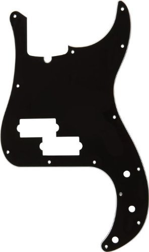 Best fender precision bass pickguard black