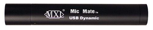 MXL MIC MATE DYNAMIC XLR To USB Preamp for Dynamic Mics (Black) Marshall Electronics MXL-MICMATE DYNAMIC