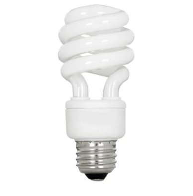 EcoSmart 60W Equivalent Soft White Spiral CFL (20-Pack)