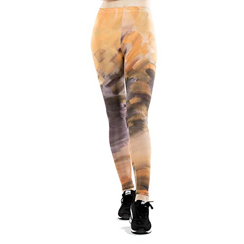 GYXYYF Frauen Digitaldruck Jogginghose Enge Dünne Yogahosen Hohe Elastische Abnutzung