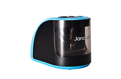 Jancosta Professional USB and Battery Driven Automatic Electric Pencil Sharpener with Built-in Safety Machenism