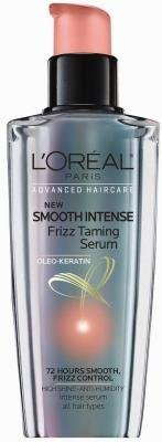 L'Oreal Smooth Intense Frizz Taming Serum 3.4 - Serum Smoothing Smooth