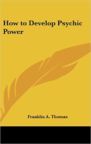 Read How to Develop Psychic Power PDF