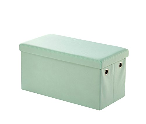 Urban Shop K656692 Folding Storage Bench, Mint by Urban Shop
