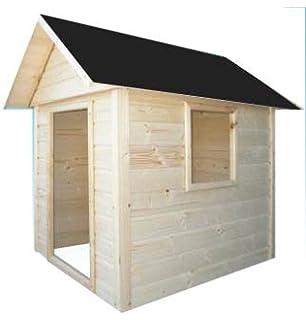 cadema casita de madera de jardn para nios x