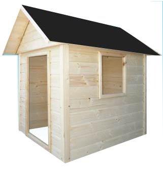 Cadema - Casita de madera de jardín para niños, 1,7 x 1,7 m: Amazon.es: Jardín