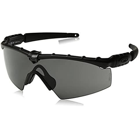 f634081215f Oakley Men  39 s Ballistic M Frame 2.0 Rectangular Sunglasses Matte Black  ...