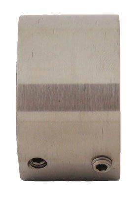 Edelstahl Wandanschluss verdeckte Montage f/ür Rohr 33,7 mm S014121 V2A