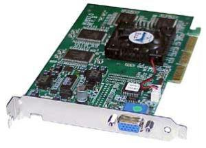 Gateway - Gateway nVidia GeForce2 AGP VGA 32MB Video Card 6001519 VGA GeForce-N15-32MB - 6001519 ()