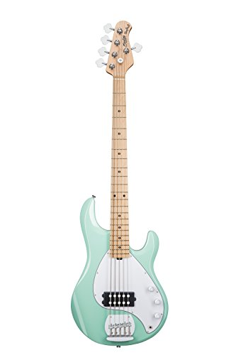 Sterling by Music Man StingRay Ray5 Bass Guitar in Mint Green, 5-String
