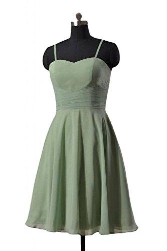 Strap BM8487E Xanadu Chiffon Spaghetti Party Dress Short Dress DaisyFormals Bridesmaid 8XwqRxB
