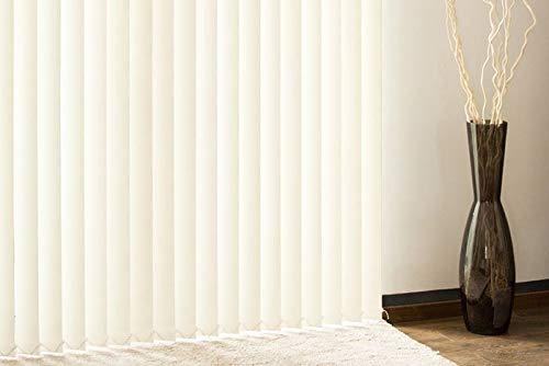 Tende A Lamelle Verticali.Victoria M Tenda A Lamelle Verticali Isabella Forma A I Leggermente Trasparente 12 7 X 250 Cm Beige Pacco Da 6