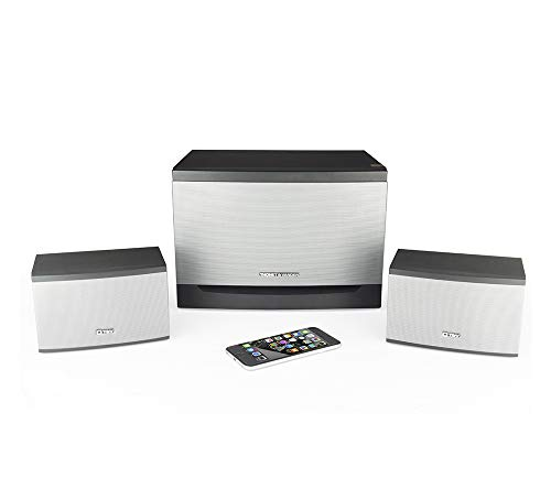 Thonet and Vander Laut BT Bluetooth 2.1 Surround Sound Speakers (340 Peak Watts) Home Theater Speaker System with Subwoofer, Enhanced Bass and Dual RCA Stereo Inputs (Works with Alexa) German Engineer