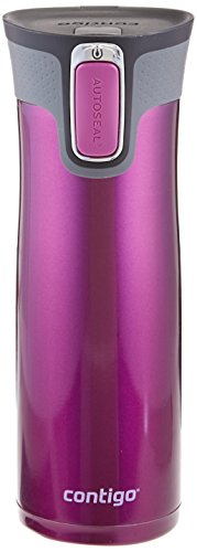 Contigo Autoseal West Loop Stainless Steel Travel Mug with Easy-Clean Lid, 20 oz Radiant Orchid by Contigo
