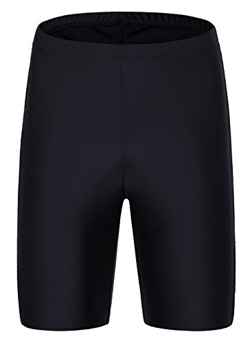 Taylover Womens Swim Bottom High Waisted Bike Shorts Tummy Control - Shorts Swim Nylon Spandex