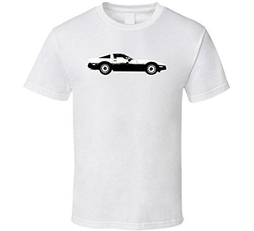 1984 Chevrolet Corvette C4 350 Vintage Car Lover Driver Fan Gift T Shirt 2XL White