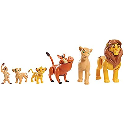 Lion King - Delux - 10 Pack of Collectible Figures Featuring Favourites from The Movie, Approx 3in!: Toys & Games