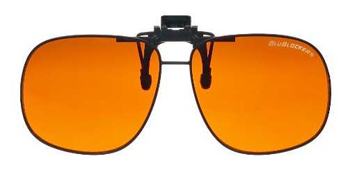 BluBlocker Large Clip On Sunglasses 62mm width - Sunglasses Blublocker
