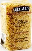 DeLallo Whole Wheat Orzo 16.0 OZ(Pack of 12)