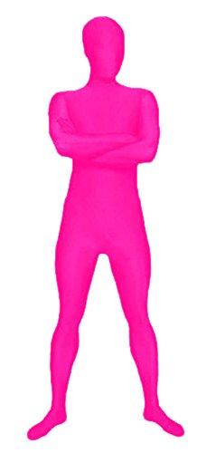 Suits Spandex (VSVO Men's Full Body Spandex Lycra Suit (Medium, Rose)